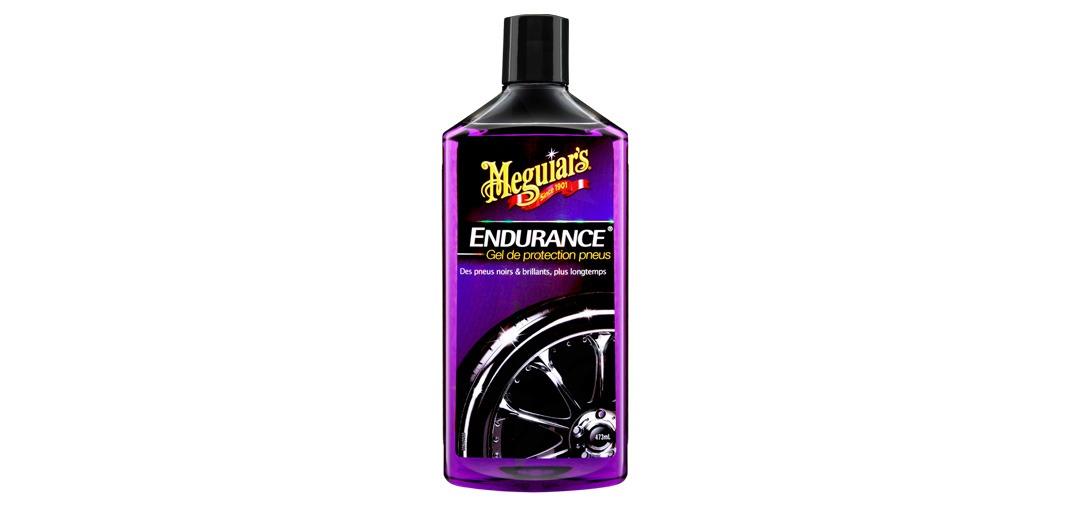 Le Brillant Pneu Endurance de Meguiar's : parfait pour un effet ultra brillant