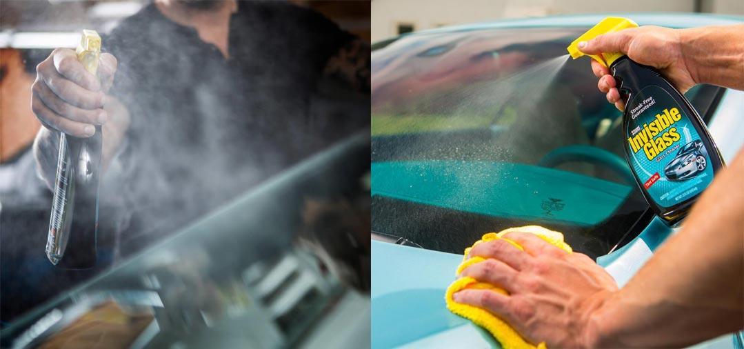 Pour de bons résultats sur vos vitres, utilisez le Stoner Invisible Glass