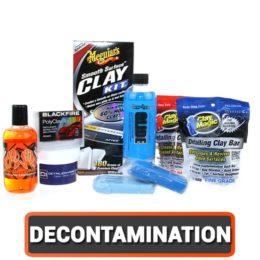 La Décontamination de la carrosserie : Clay Bar et Produits Décontaminants