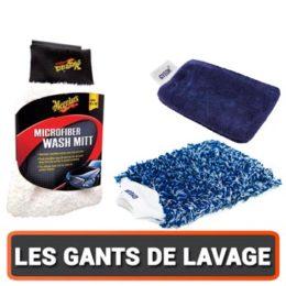 Les Gants de lavage auto : Micro fibre ou fibre naturelles ?