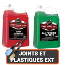 Nettoyage des Joints et Plastiques Extérieur