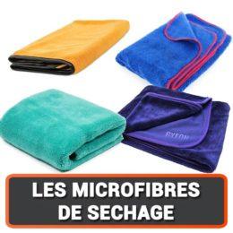 Notre sélection de micro fibres de séchage