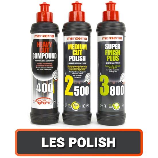 Les Polishs pour le Detailing Automobile