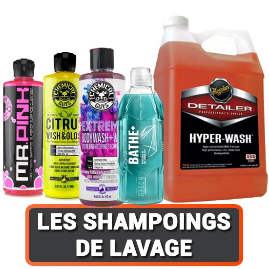 Shampoing lavage auto