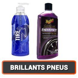 Les Brillants pour pneus (dressing pneus)
