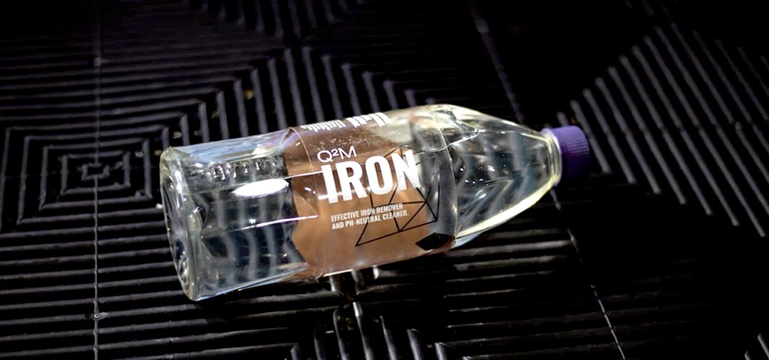 Q2M Iron de Gyeon sans doute l'un des meilleurs DÉCONTAMINANT FERREUX