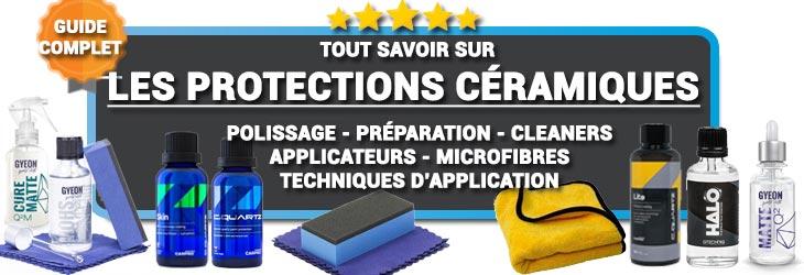 Tout savoir sur les protections céramiques