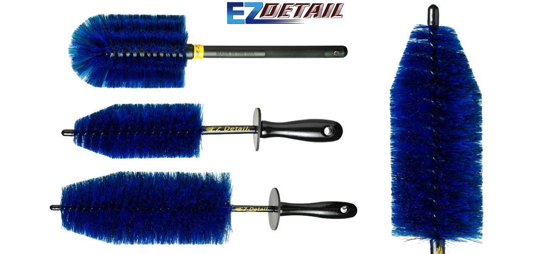 Les brosses EZ Detail se déclinent en 3 tailles : Mini, Classique et Go