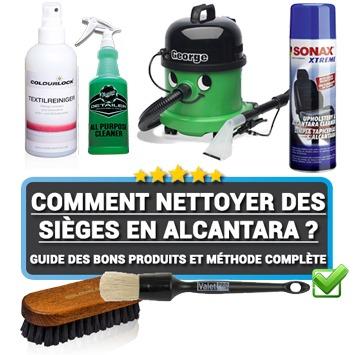 Guide sur le nettoyage des sièges en Alcantara