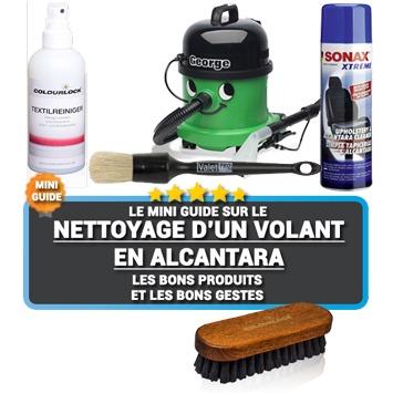 Comment nettoyer un volant en Alcantara ?