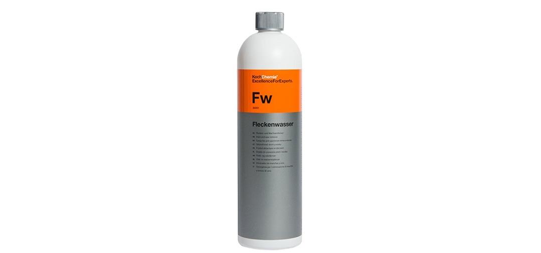Koch Chemie propose son Cleaner, le Fleckenwasser , parfait pour supprimer les filers et autres résidus de polish dans le cadre de la pose d'une protection comme une céramique