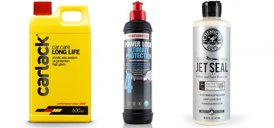Qu'est ce qu'un Sealant ? une Cire synthétique Pourquoi choisir le JETSEAL de Chemical Guys ?