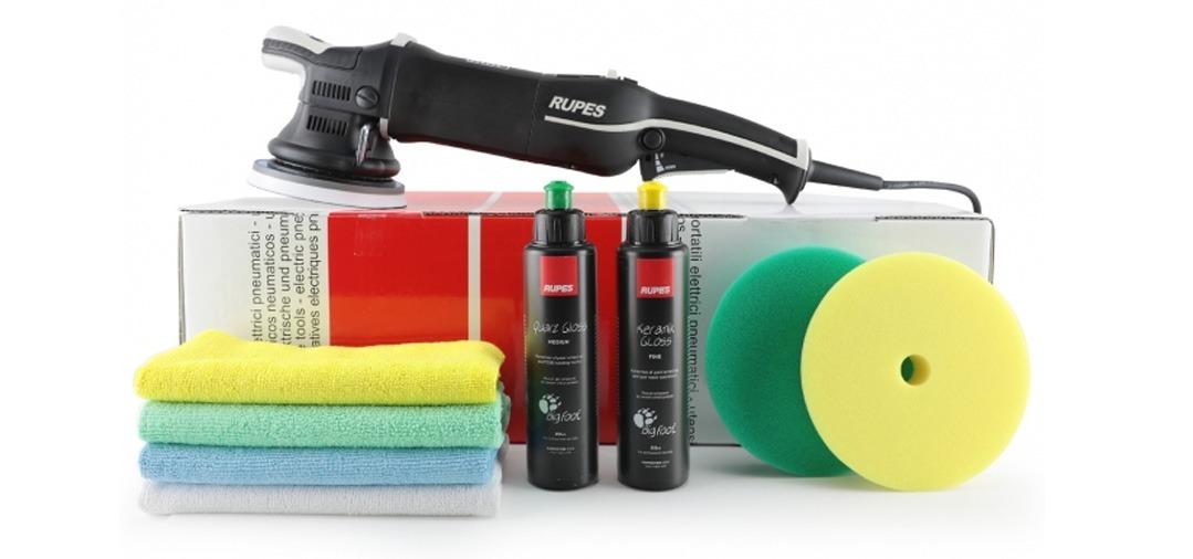 La Marque Rupes propose tout ce dont vous pourriez avoir besoin pour polir un véhicule : polisseuses, polish et PAD