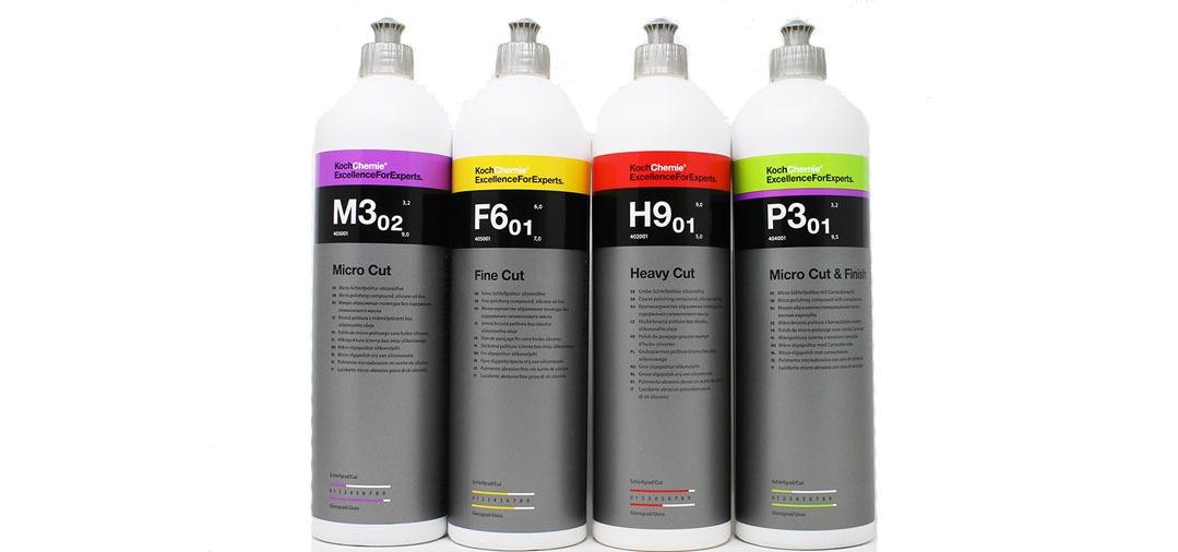 Polish Koch Chemie: M302 F601 H901 P301