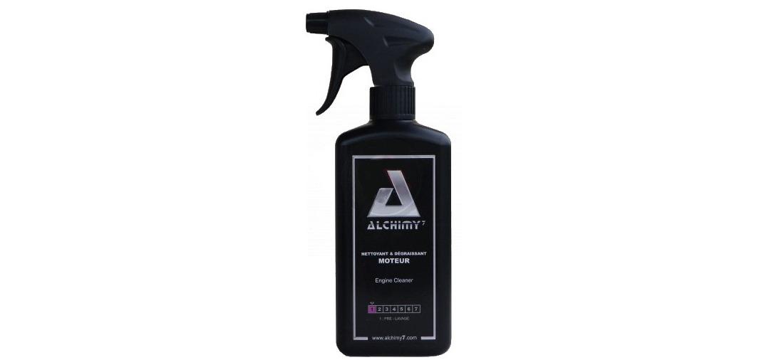 Test du nettoyant et dégraissant moteur d'Alchimy7