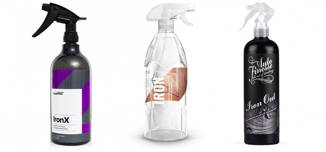 Carpro Ironx X, Gyeon Q2M Iron et Auto Finesse Iron Out : des produits de décontamination très efficaces sur les jantes