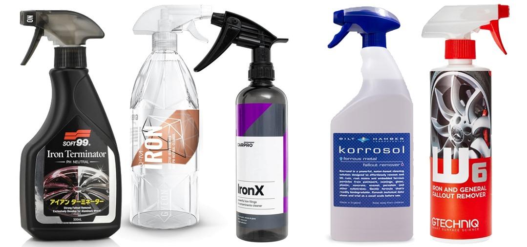 Les produits de décontamination Anti Ferreux pour les jantes