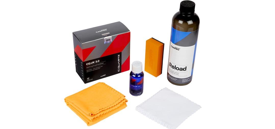 Voici le Kit complet Cquartz UK Edition 3.0 pour un traitement céramique au top !