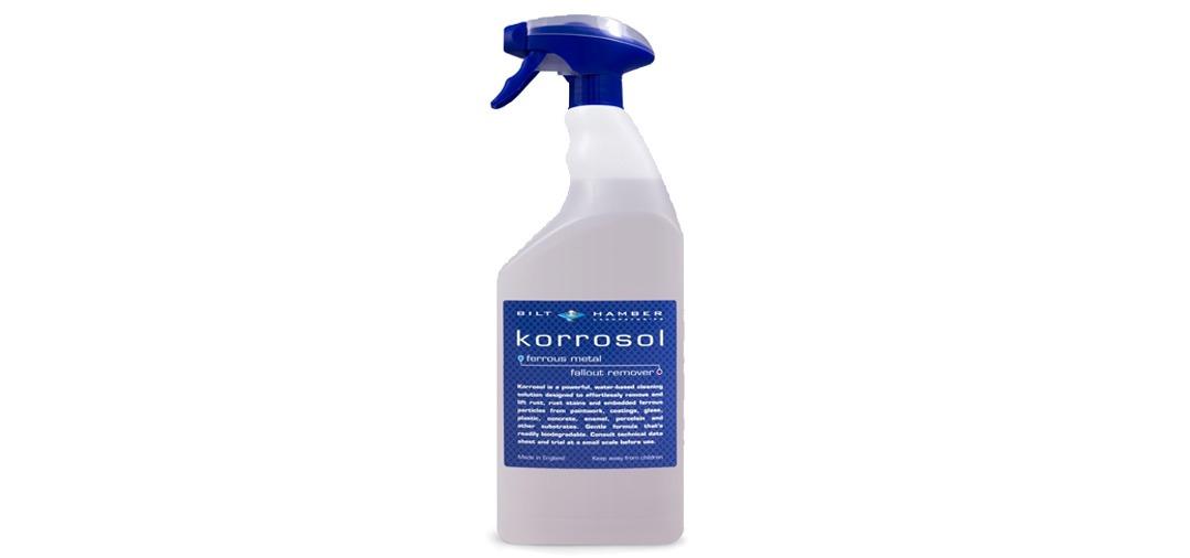 Bilt Hamber Korrosol : mon 3em produit préféré pour supprimer la contamination ferreuse sur les jantes