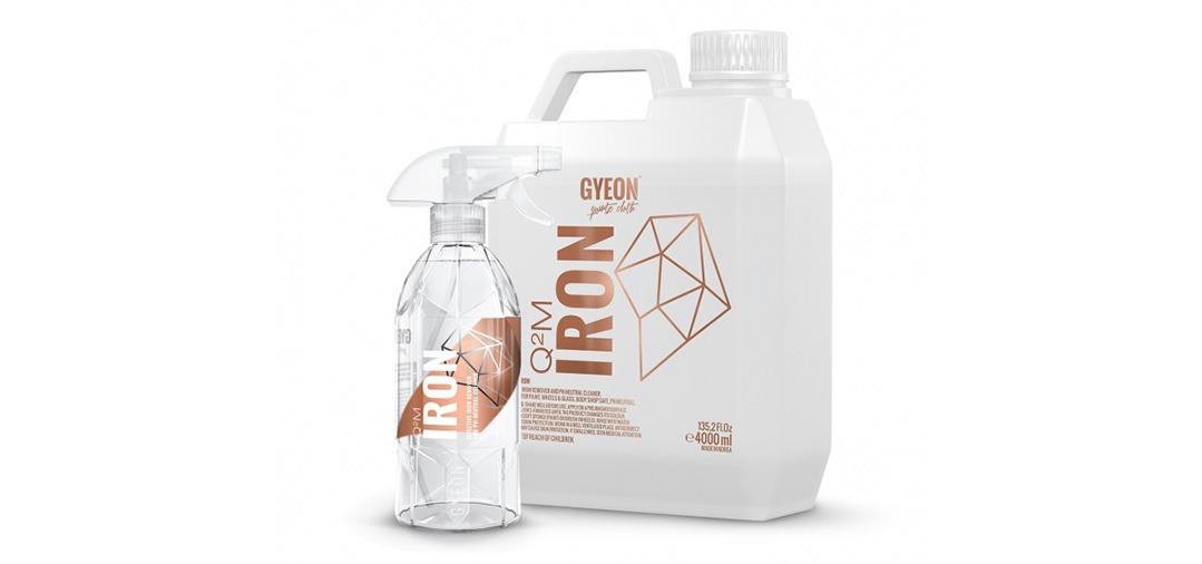 Gyeon Q2M Iron : très bon produit pour supprimer la contamination ferreuse sur les jantes