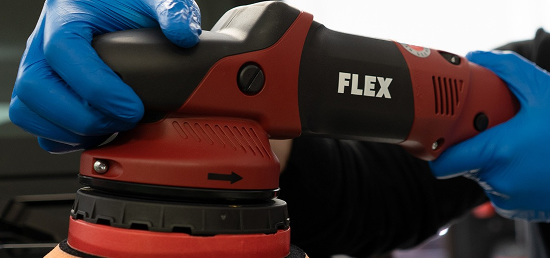 Polisseuse Dual Action à rotation forcée : Flex XCE 10-8125