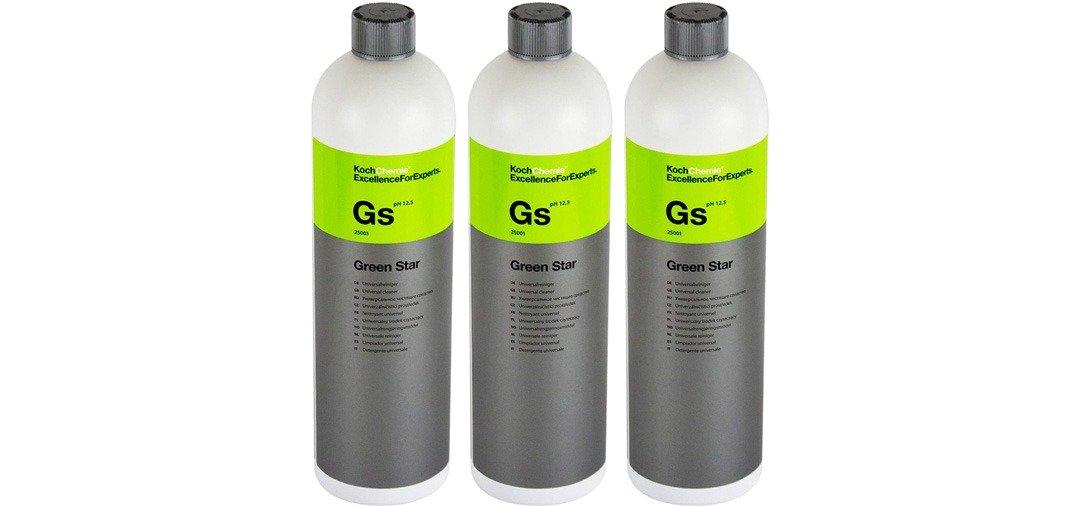 l'APC Green Star de Koch Chemieest un nettoyant multi usage et multi surfaces très efficace !